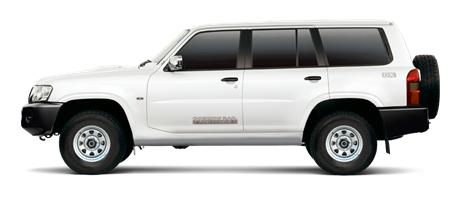New Nissan Patrol Y61