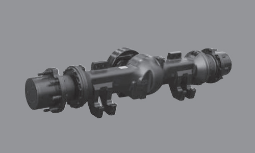 60L/70 L-7A Highly durable split type drive axle