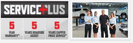 MU-X Isuzu UTE Service Plus