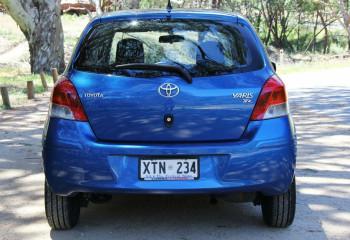 2009 Toyota Yaris NCP91R MY09 YRS Hatchback