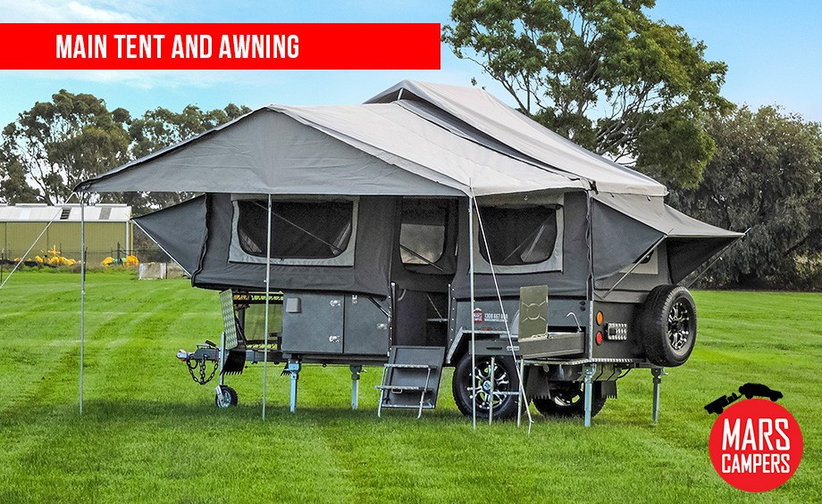 awnings home reisa up decor rail image for hard awning by camper trailers pop of