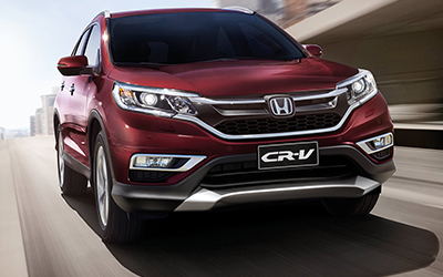 CR-V Five-Star Safety Feeling