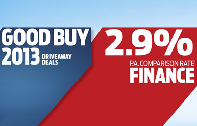Good Buy 2013 2.9% Finance