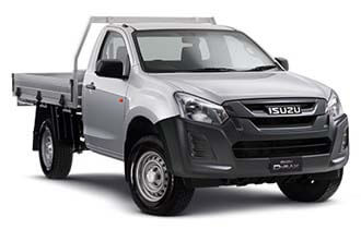 4x4 EX Single Cab Chassis