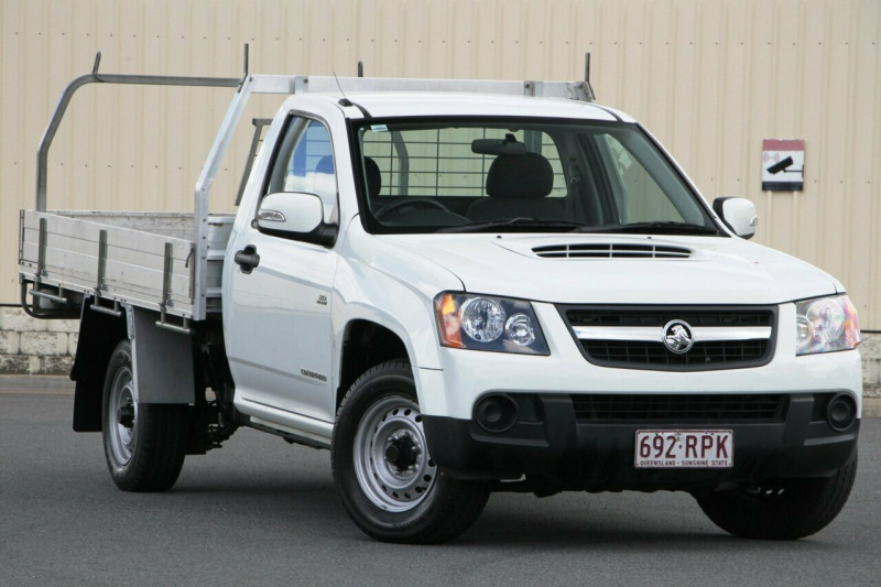 2011 Holden Colorado RC MY11 LX Cab chassis