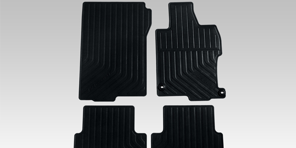 "<img src=""All-Weather Rubber Mat Set"