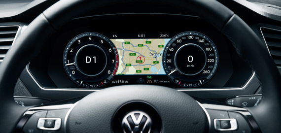 Tiguan Next level infotainment.