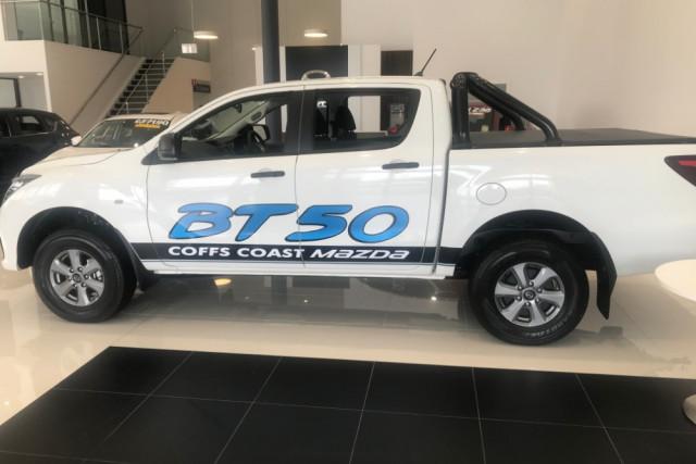 2019 MYch Mazda BT-50 UR 4x4 3.2L Dual Cab Pickup XT Ute Image 2