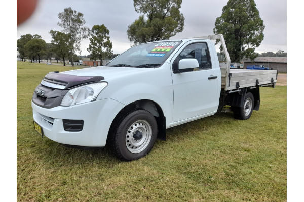 2015 MY15.5 Isuzu UTE D-MAX SX 4x2 Single Cab Chassis Low-Ride Cab chassis Image 3