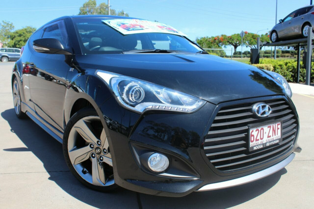 2014 Hyundai Veloster FS4 Series II SR Coupe D-CT Turbo + Hatchback