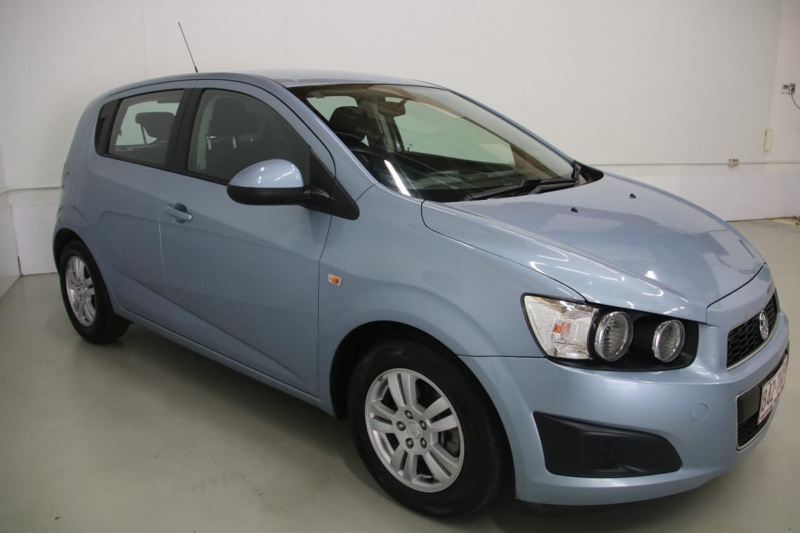 2012 Holden Barina TM TM Hatchback