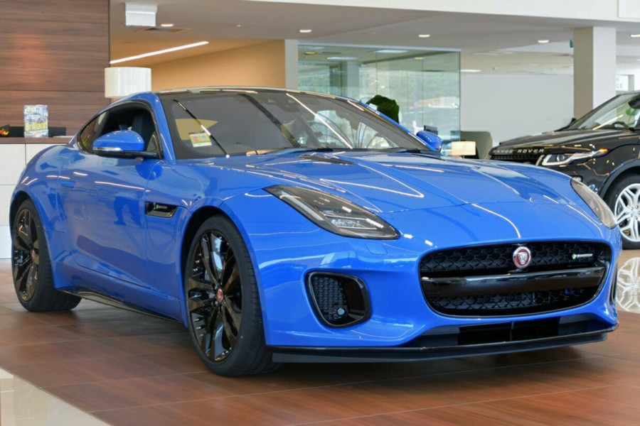 2018 MY19.5 Jaguar F-TYPE X152 R-Dynamic Coupe Coupe