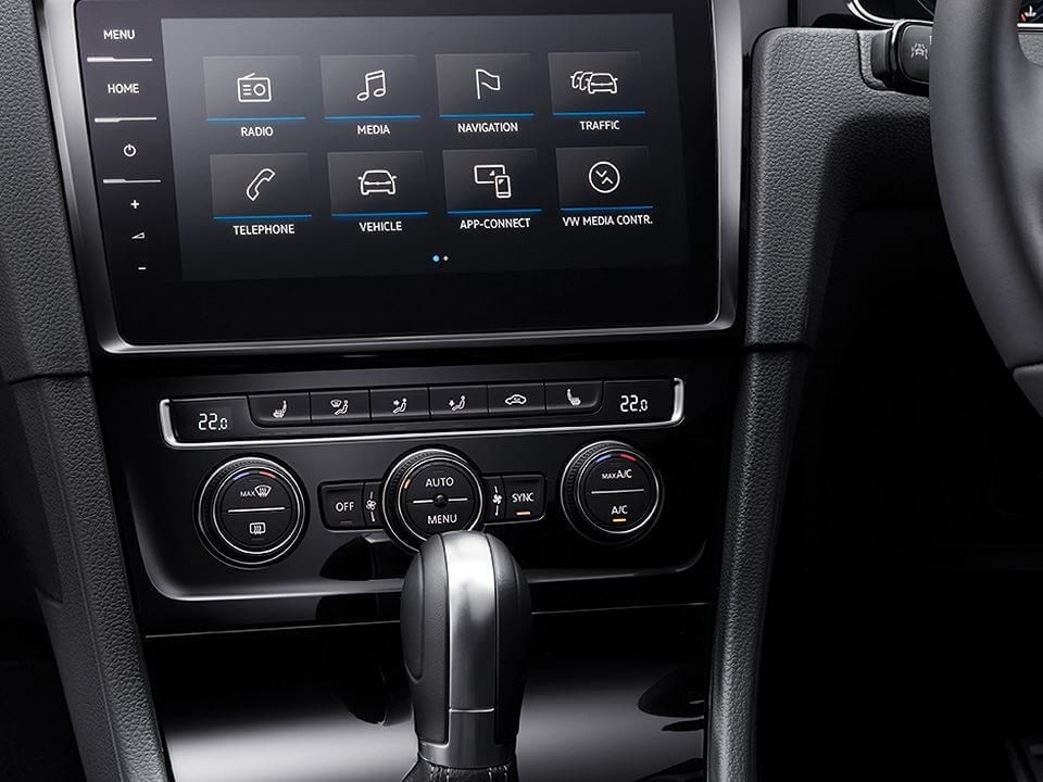 Entertainment on the go Infotainment system Image