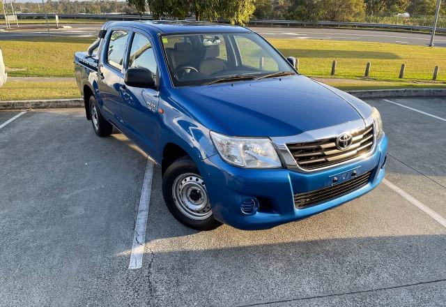 2014 Toyota HiLux GGN15R MY14 SR Utility