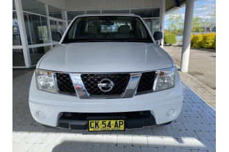 2008 Nissan Navara D40 RX Cab chassis - extended cab Image 2