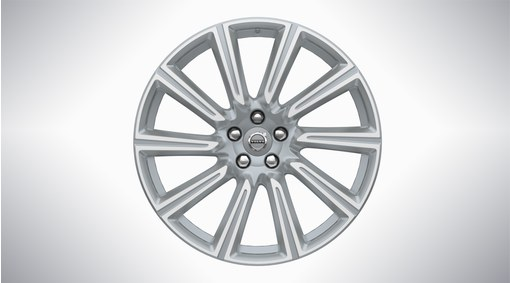 "20"" 10-Spoke Silver Diamond Cut Alloy Wheel - 173"