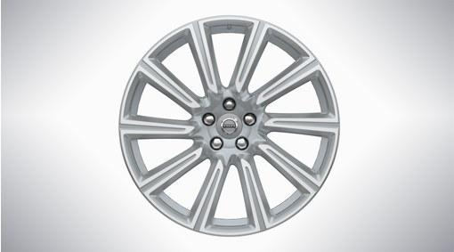 """20"""" 10-Spoke Silver Diamond Cut Alloy Wheel - 173"""