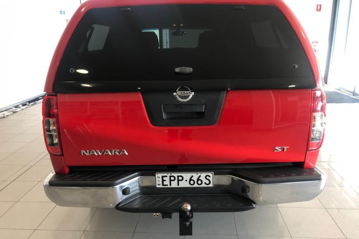 2012 Nissan Navara D40 S6 MY12 ST Utility Image 9