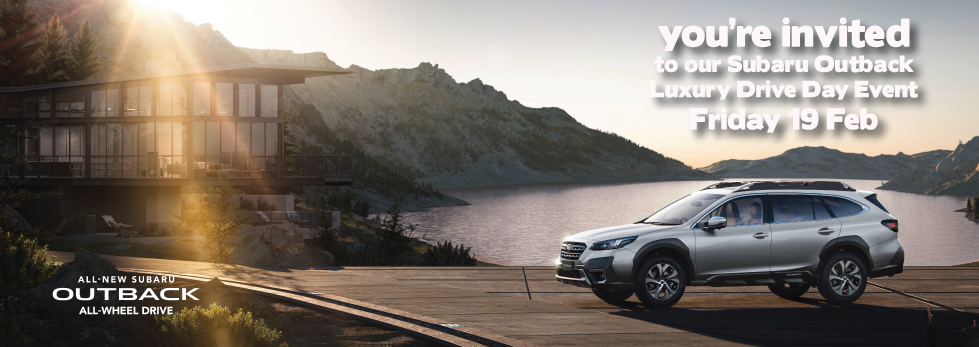 WATCH DAVE'S PERSONAL VIDEO INVITATION TO OUR SUBARU OUTBACK LUXURY DRIVE DAY EVENT <br/>