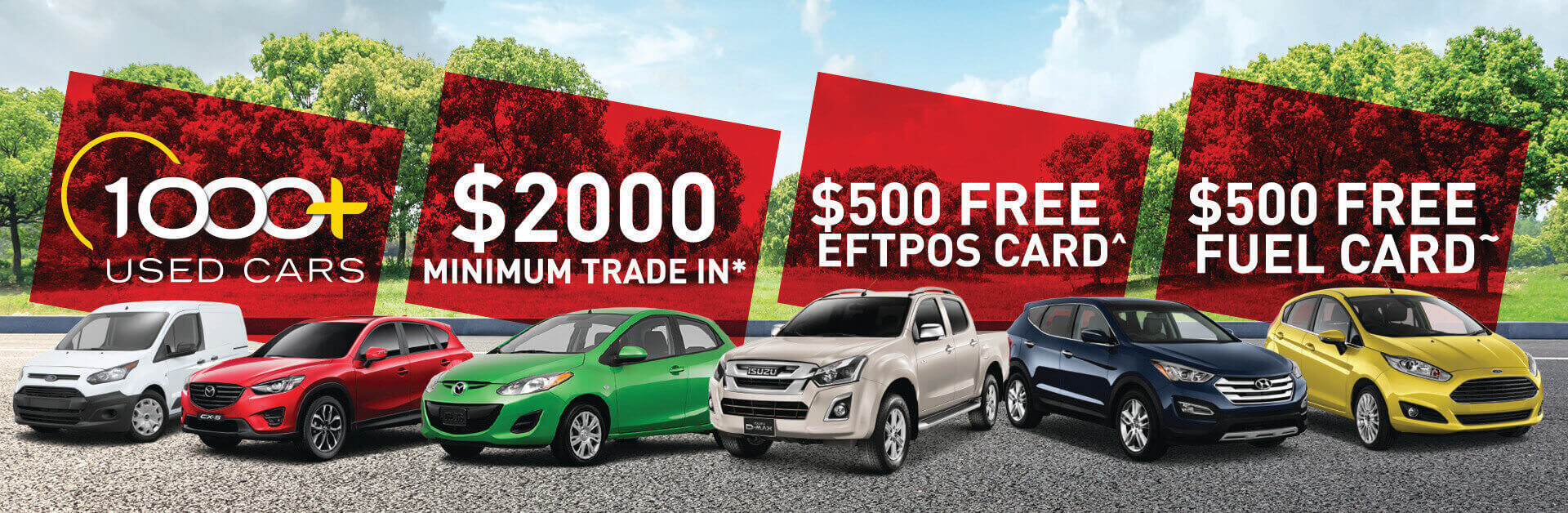 Frizelle Used Cars July Offer