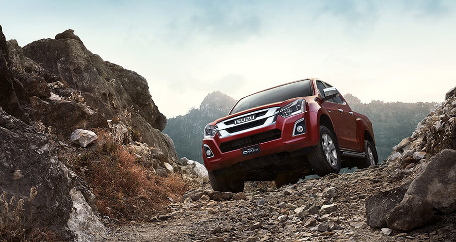 Isuzu UTE Hill Start Assist And Descent Control