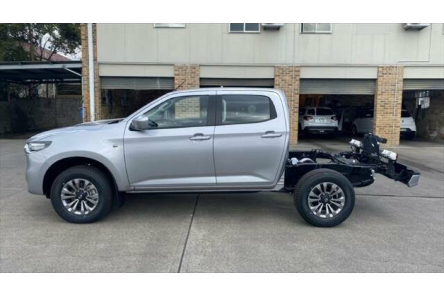 2021 Mazda BT-50 TF XT Cab chassis