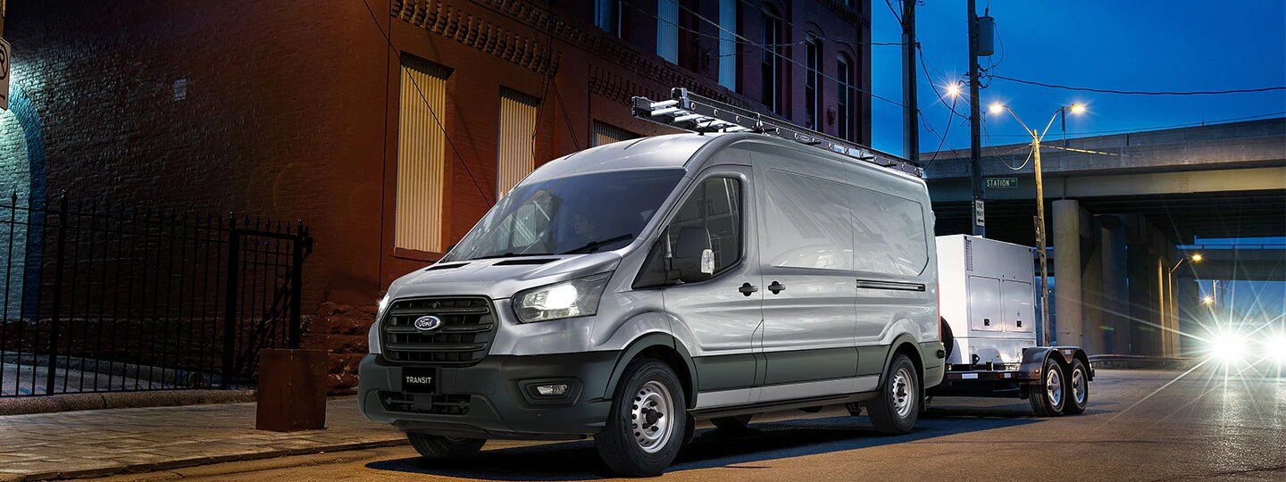 Transit Transit Van is Built for Business