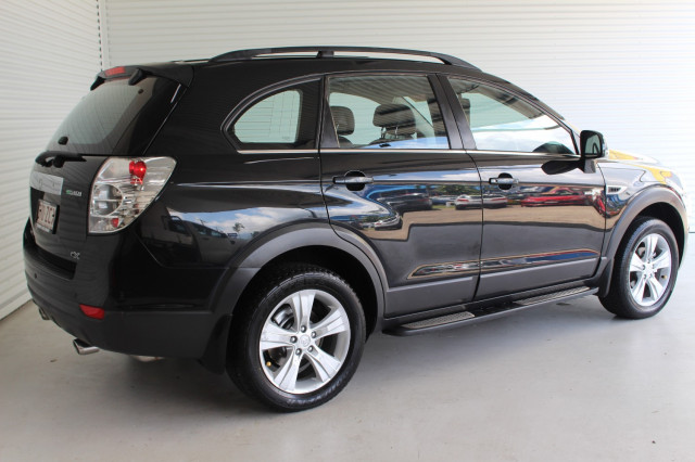 2012 Holden Captiva CG SERIES II MY12 7 Suv