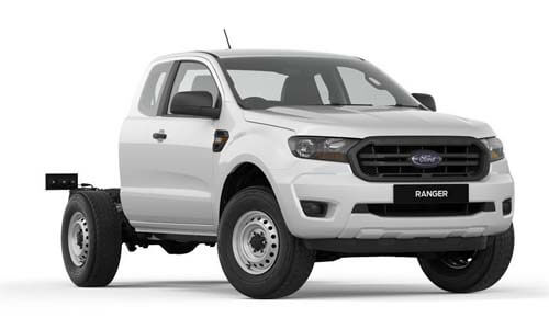2019 MY19.75 Ford Ranger PX MkIII 4x2 XL Super Cab Chassis Hi-Rider Cab chassis