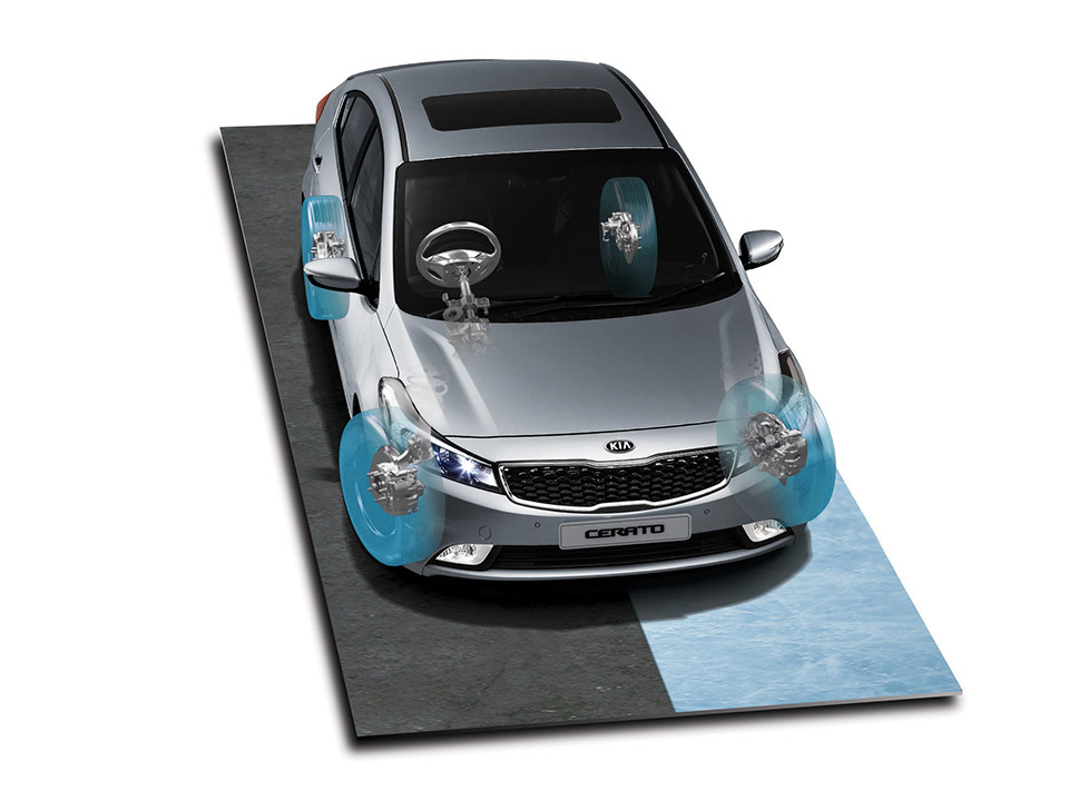Cerato Hatch VSM (Vehicle Stability Management)