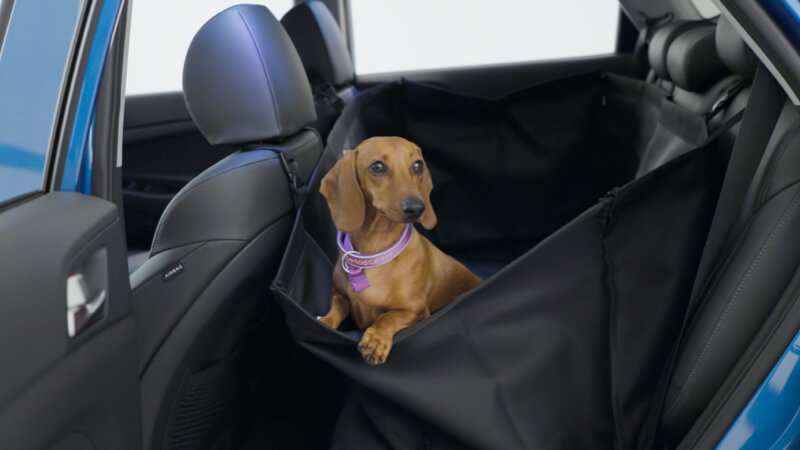 """<img src=""""Rear seat pet cover."""