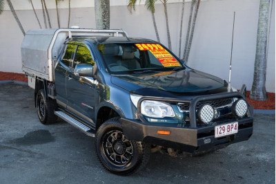 2015 Holden Colorado RG MY16 LS Cab chassis Image 2