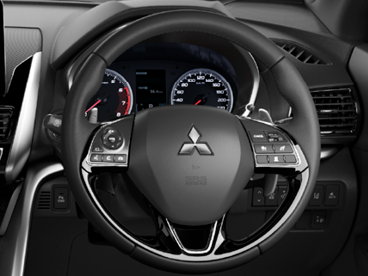 Leather-bound steering wheel Image