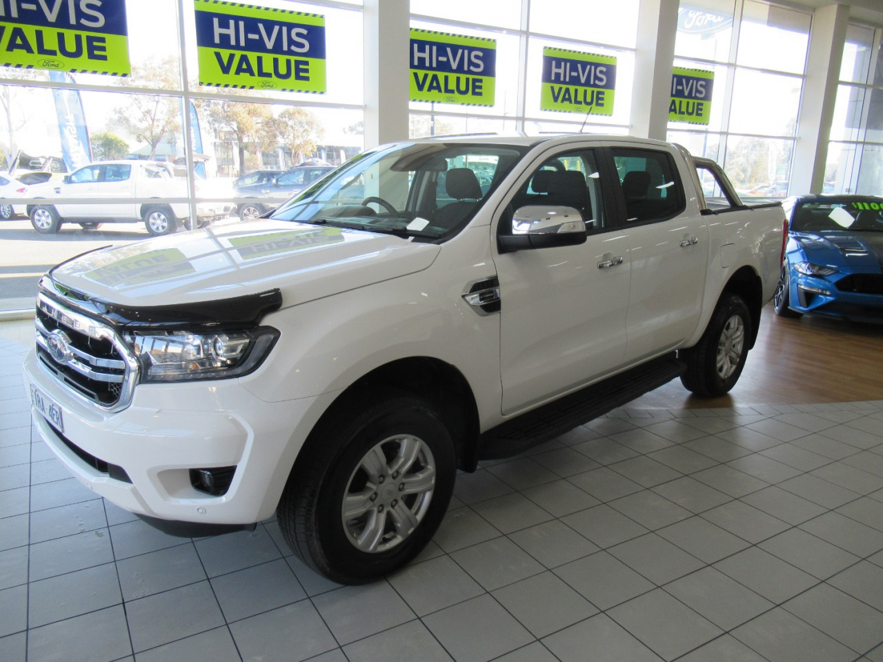 2019 MY19.75 Ford Ranger PX MkIII 4x2 XLT Double Cab Pick-up Hi-Rider Utility Image 3