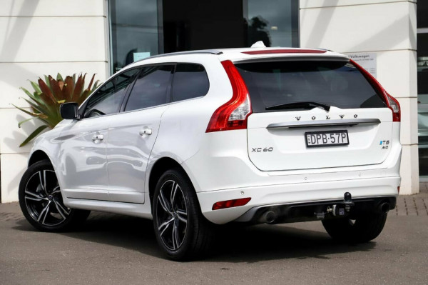 2016 MY17 Volvo XC60 DZ MY17 T5 Geartronic AWD R-Design Suv
