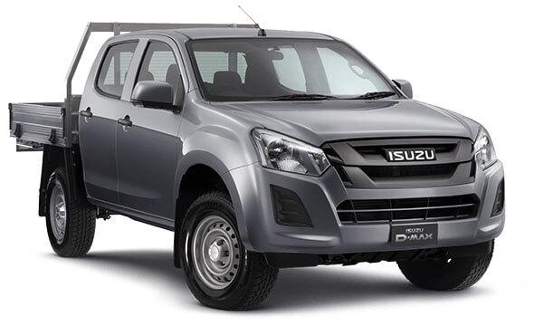 2019 Isuzu UTE D-MAX SX Crew Cab Chassis High-Ride 4x2 Crew cab