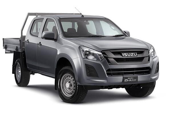Isuzu UTE D-MAX SX Crew Cab Chassis High-Ride 4x2