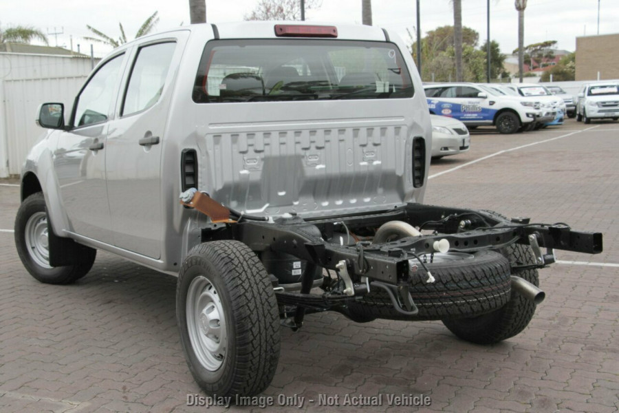 2018 Isuzu UTE D-MAX 4x4 SX Crew Cab Chassis Cab chassis