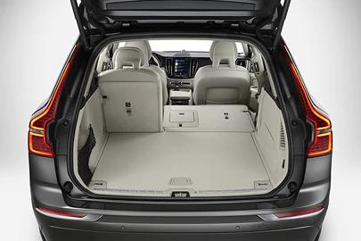 Flat-folding two-split rear seat Image