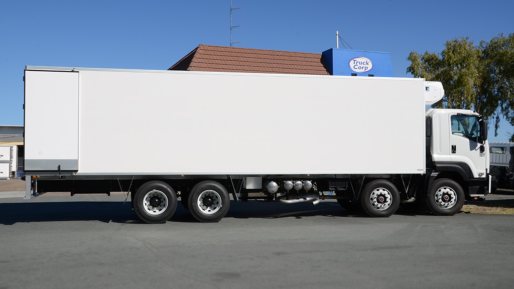 The first of the Flynn Transport 10.1m