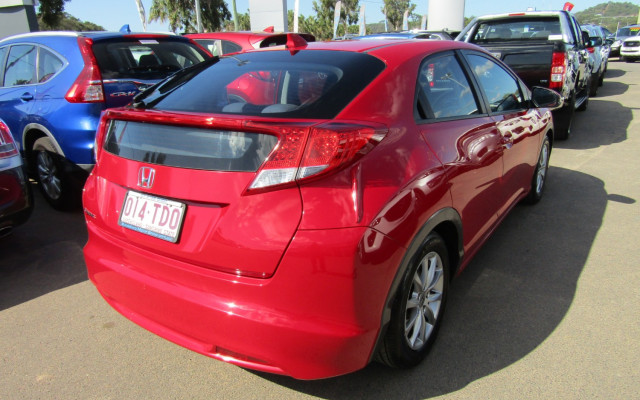 2013 Honda Civic 9TH GEN MY13 VTI-S Hatchback Image 3