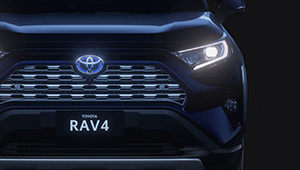RAV4 Smart entry and start system
