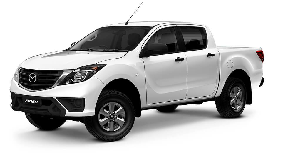 2019 Mazda BT-50 UR 4x2 3.2L Dual Cab Pickup XT Utility