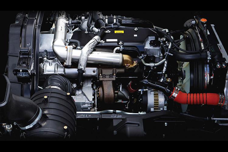 FY Series High-torque 9.8 litre engine