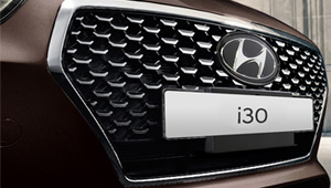 i30 Cascading Grille
