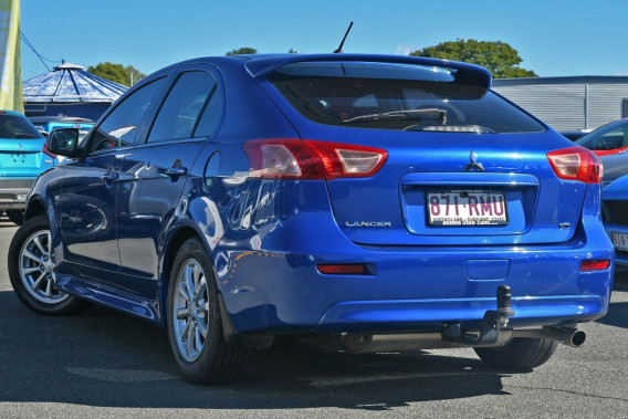 2010 MY11 Mitsubishi Lancer CJ MY11 VR Sportback Hatchback