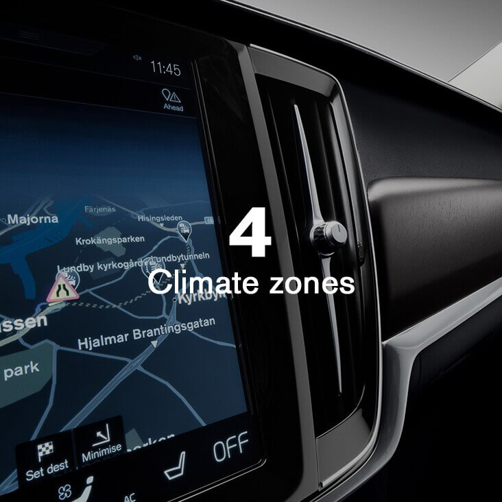 V90 Cross Country Personalised comfort