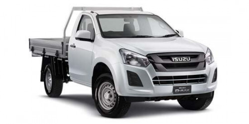 2018 Isuzu UTE D-MAX -- 4x2 SX Single Cab Chassis High-Ride Single cab
