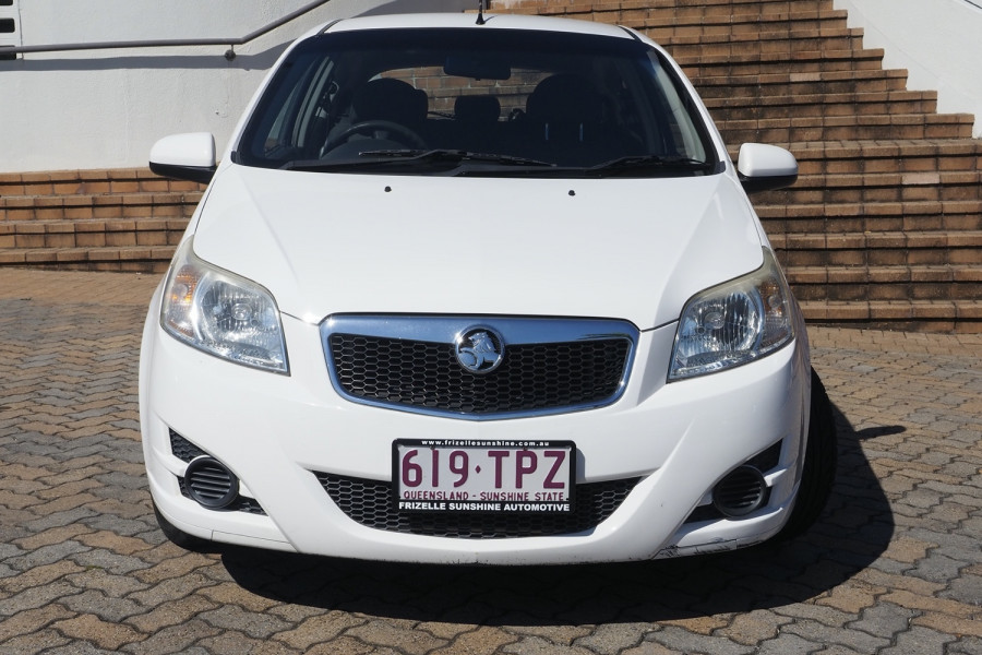 2009 Holden Barina TK MY09 Hatch
