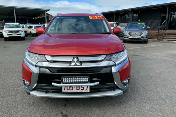 2018 MY18.5 Mitsubishi Outlander ZL MY18.5 LS 2WD Suv